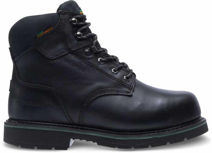 HYTEST FootRests 23230 Black Electrical Hazard, Composite Toe, Internal Met Guard, Waterproof Men's 6 Inch Work Boot