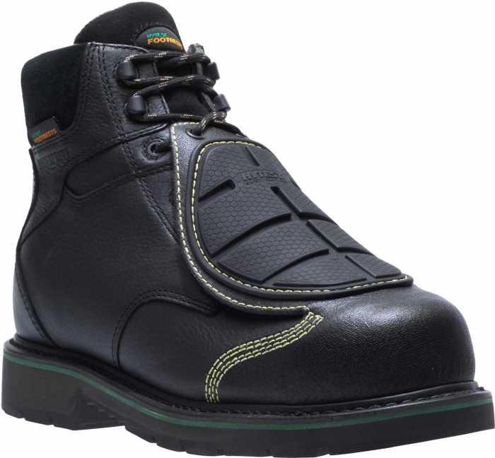 HYTEST FootRests 23300 Black Electrical Hazard, Composite Toe, Smart Guard Met Guard, Waterproof, Men's 6 Inch Boot