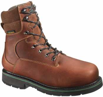 HYTEST 24121 FootRests Mens Brown, Comp Toe, EH, Waterproof/Insulated, 8 Inch Boot