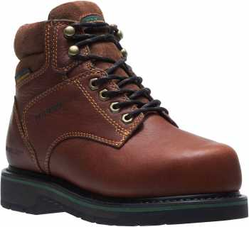HyTest 27331 FootRests, Women's, Brown, Comp Toe, EH, Mt, WP, 6 Inch Boot