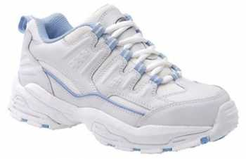 Carolina CA1556 Women's, White, Steel Toe, EH, Slip Resistant Athletic