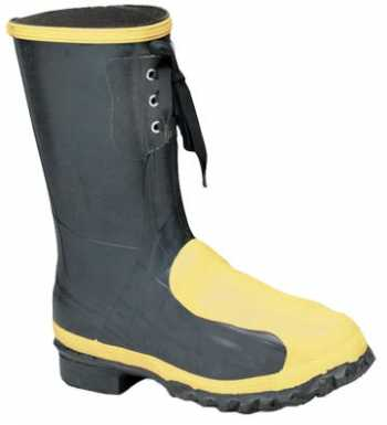 LaCrosse 228040 Men's 12 Inch Steel Toe, Internal Met Guard, Puncture Resistant Rubber Boot
