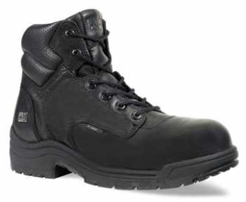 Timberland PRO TM50507 Black, Men's, TiTAN Comp Toe, EH, 6 Inch Work Boot