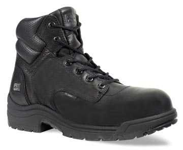 Timberland PRO TM50507 Black, Men's, TiTAN Comp Toe, EH, 6 Inch Work Boot