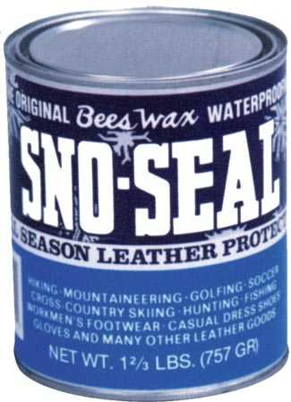 Atsko A1330 Sno-Seal Bees Wax Waterproof 7 Ounce Jar