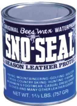 Atsko A1330 Sno-Seal Bees Wax Waterproof 7 Ounce Jar
