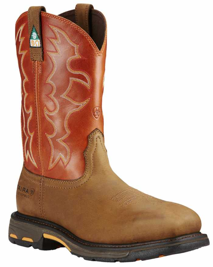 Ariat AR10017170 WorkHog, Dark Earth, Comp Toe, EH, PR, CSA Grade 1 Boot