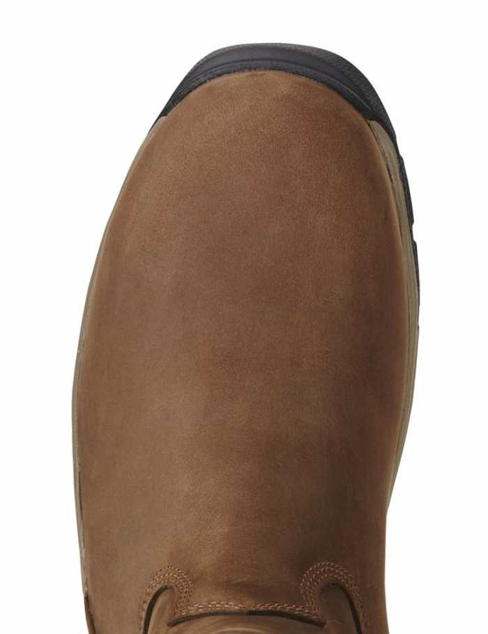Ariat AR10020094 MasterGrip Brown Men's Work CT, SD Wellington