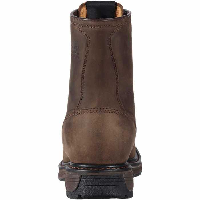 Ariat 1943 Men's Brown 8 Inch Workhog Boot Composite Toe SR Waterproof