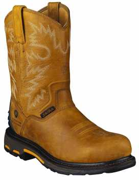 Ariat AR4889 Men's, Brown, Comp Toe, EH, Pull On Boot