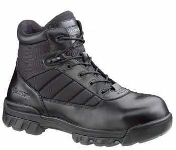 Bates BA2264 Black Composite Toe, Electrical Hazard, Side Zipper Unisex 5 Inch Tactical Sport Boot