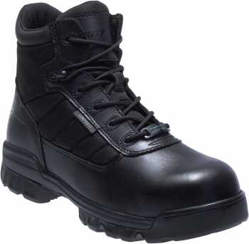 Bates BA2264 Black Composite Toe, Electrical Hazard, Side Zipper Unisex 5 Inch Tactical Sport Boot