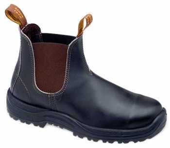 Blundstone BL172 Men's, Stout Brown, Steel Toe, EH, Chelsea Boot