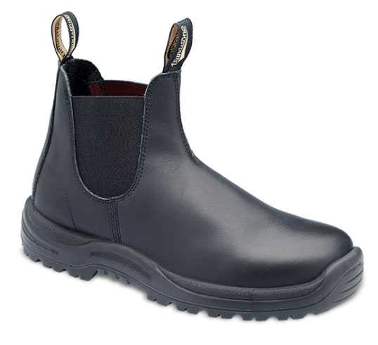 Blundstone BL179 Men's Black, Xtreme Safety, Steel Toe, EH, PR, Pull On Boot