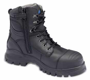 Blundstone BL997 Men's Black, Xfoot Series, Steel Toe, EH, Side Zip Boot