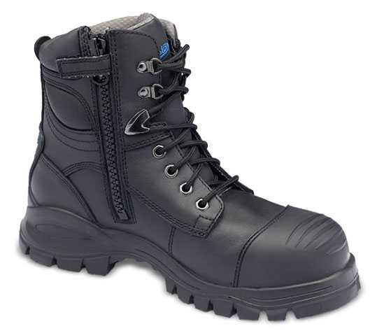 Blundstone BL997 Men's Black, Xfoot Series, Steel Toe, EH, Side Zip Boot