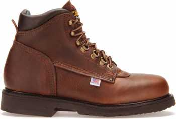 Carolina CA1309 Men's Brown, Steel Toe, EH, 6 Inch Boot, Made In USA