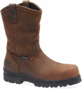 Carolina CA2533 Laser, Men's, Brown, Comp Toe, EH, WP Wellington