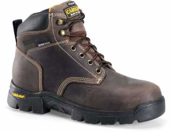 Carolina CA3535 Circuit, Men's, Brown, Comp Toe, EH, WP/Insulated, 6 Inch Boot