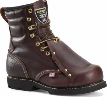 Carolina CA505USA Briar Pitstop, USA Made, Steel Toe, Electrical Hazard, Met Guard Unisex 8 Inch Boot