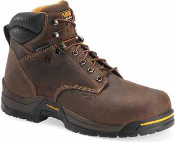 Carolina CA5521 Bruno Lo, Men's, Brown, Comp Toe, EH, WP/Insulated, 6 Inch Boot