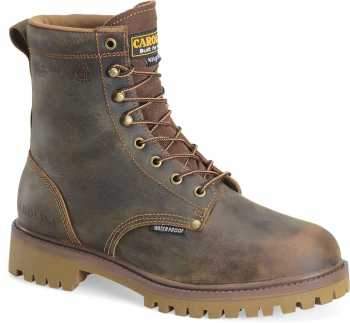 Carolina CA8588 Marlboro Hi, Men's, Brown, Steel Toe, EH, WP/Insulated, 8 Inch Boot