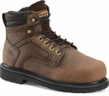 Carolina CA9599 MetPro, Men's, Brown, Steel Toe, EH, Internal Met, 6 Inch Boot