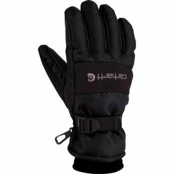 Carhartt Black Waterproof Insulated Glove for Men