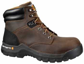 Carhartt CMF6366 Rugged Flex, Men's, Brown, Comp Toe, EH, 6 Inch Boot