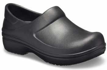 Crocs CR11773BLK Black Neria Work Soft Toe, Slip Resistant Womens' Clog