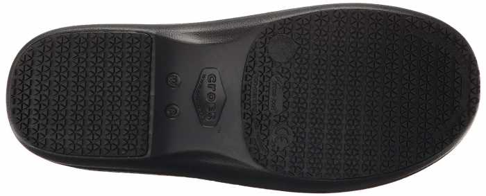Crocs CRNERIA0J2 Women's, Black/Multi Color, Soft Toe, Slip Resistant Clog