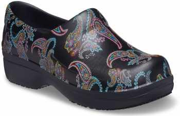 Crocs CRNERIA9B1 Pro II, Women's, Paisley, Soft Toe, Slip Resistant, Work Clog