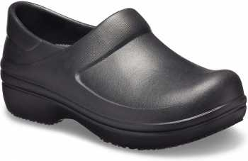 Crocs CRNERIABLK Pro II, Women's, Black, Soft Toe, Slip Resistant, Work Clog
