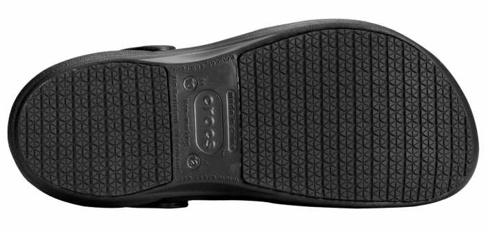 Crocs Bistro Unisex Black Slip Resistant Soft Toe Clog