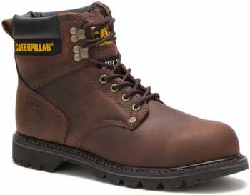 Caterpillar CT89586 Second Shift, Men's, Brown, Steel Toe, EH, 6 Inch Boot