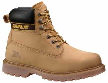 Caterpillar CT89733 Wheat Steel Toe, Electrical Hazard Men's Holton 6 Inch Boot