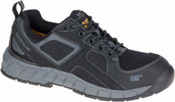 Caterpillar CT90827 Gain, Men's, Black, Steel Toe, EH, Low Athletic