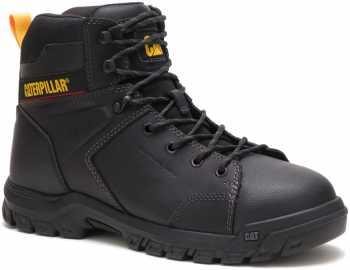 Caterpillar CT91114 Wellspring, Men's, Black, Steel Toe, EH, Mt, WP, 6 Inch Boot