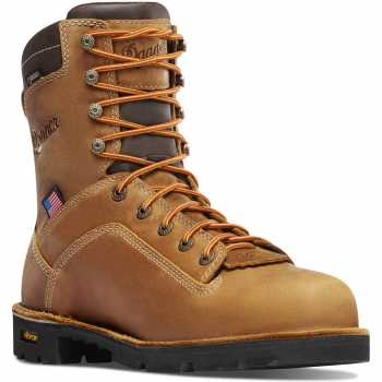 Danner DH17321 Quarry, Men's, Brown, Comp Toe, EH, WP, 8 Inch Boot