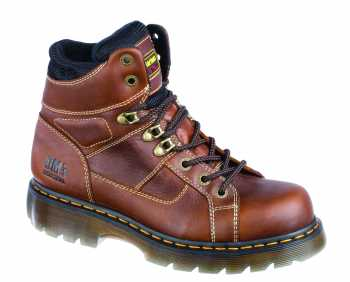 Dr. Martens DMR12721200 Ironbridge, Men's, Teak, Steel Toe, EH, Lace To Toe Boot
