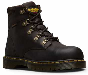 DR Martens DM13733201 Men's Brown Steel Toe, SD, Slip Resistant Hiker