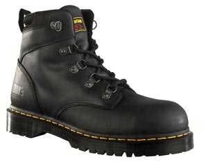 Dr. Martens DM13734001 Unisex Black Steel Toe, SD, Slip Resistant Hiker