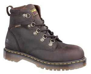 Dr. Martens 13973201 Men's Brown Nonsteel, SD, Slip Resistant Hiker