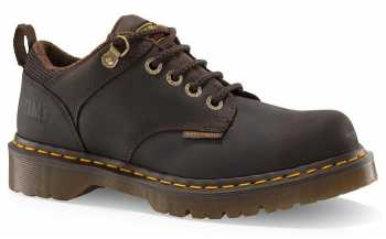 Dr. Martens 13975201 Ashridge Men's Brown Soft Toe, SD, Slip Resistant Casual Oxford