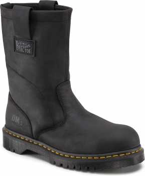 Dr. Martens DMR10295001 Icon, Men's, Black, Steel Toe, EH Wellington