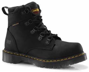 Dr. Martens 13972001 Men's Black Nonsteel, SD, Water Resistant Hiker