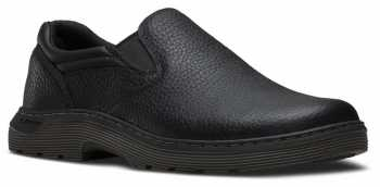 Dr. Martens DMR16943001 Asset Men's, Black, Soft Toe, Twin Gore, Slip Resistant Slip On