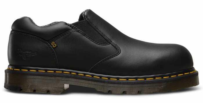 Dr. Martens DMR23119001 Dunston, Men's, Black, Steel Toe, SD Slip On