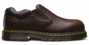 Dr. Martens DMR23120202 Dunston, Men's, Bark, Steel Toe, SD Slip On