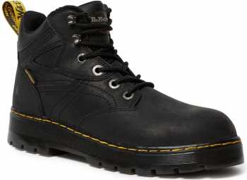 Dr. Martens DMR23388001 Plenum, Men's, Black, Steel Toe, EH, WP, 6 Inch